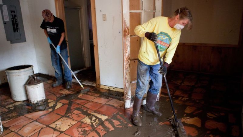 Sewage Damage Cleanup in Westphalia, MI (7709)